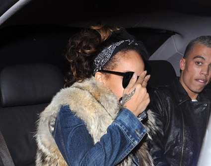 Rihanna Hit The Club With New BF Dudley O'Shaughnessy [Photo]