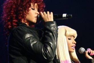 Nicki Minaj And Rihanna Nominated For Brit Awards