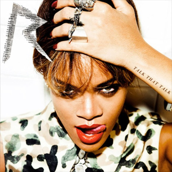 "Rihanna Reveals Cover Art For ""Talk That Talk"" Album [Photo]"