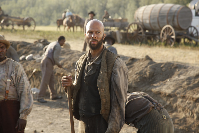 "Common Stars As Slave In AMC's ""Hell On Wheels""  [Video]"