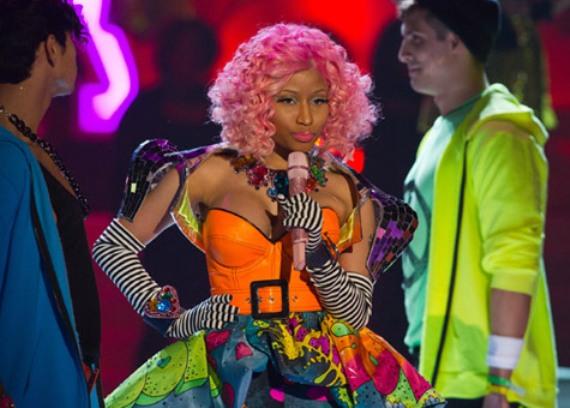 Nicki Minaj victoria secret show