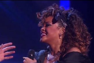 "Rihanna Performs ""We Found Love"" Live At Grammy Nomination Concert [Video]"