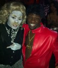TEYANA TAYLOR AND KEVIN HART halloween