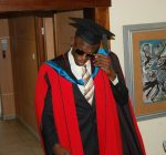 Usain Bolt doctore of law