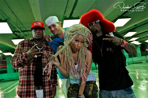"Birdman ""Y.U. Mad"" Ft Nicki Minaj, Lil Wayne Video Shoot [Photo]"