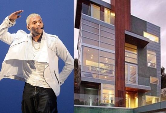 chris brown new mansion
