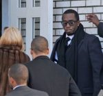 diddy at heavy d funeral