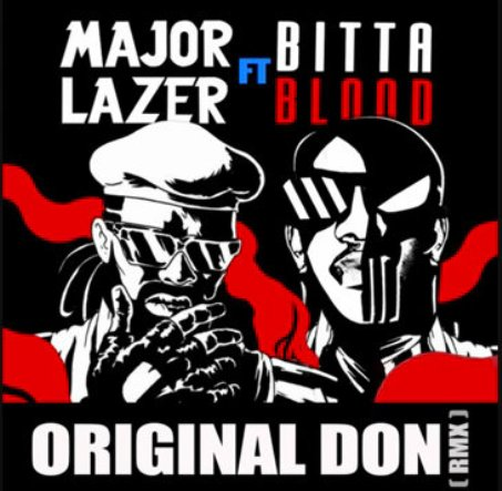 major lazer and bitter blood