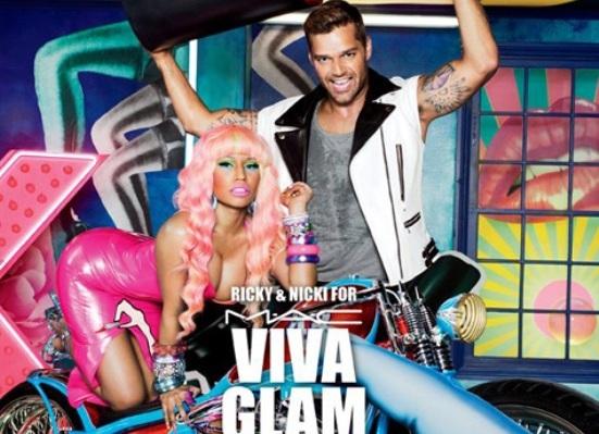 Nicki Minaj Gets Dolled Up For M.A.C Cosmetics