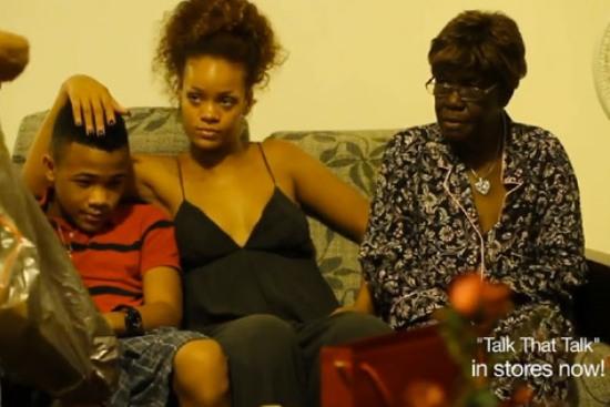 rihanna and family