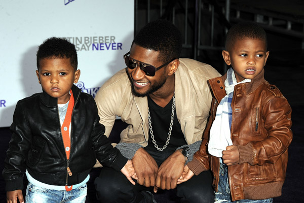 Usher And Ex-Wife Tameka Raymond To Battle For Custody Of Kids