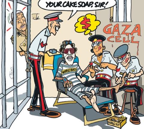 Welcome To Gaza Cell, Clovis Take On Vybz Kartel Jail Saga [Photo]