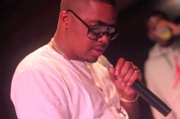 Nas Sells First Painting For $14000 [Video]
