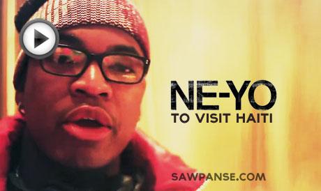 Ne-Yo Performs In Haiti, Visit Orphanages [Video]