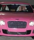Nicki Minaj pink bentley
