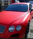 SB Red Bentley continental GT