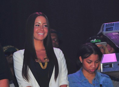 Amber Rose Debut Long Hair At Wiz Concert [Photo]
