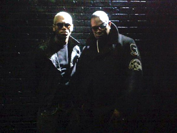 "Busta Rhymes And Chris Brown Shoot ""Why Stop Now"" Video"