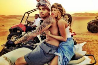 Chris Brown And Karrueche Hit Dubai [Photo]