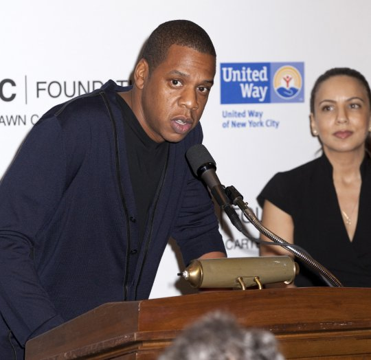 Jay-Z Promises To Ignite Carnegie Hall For Charity [Photo]