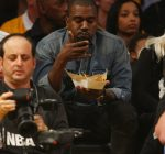 kanye west lakers game