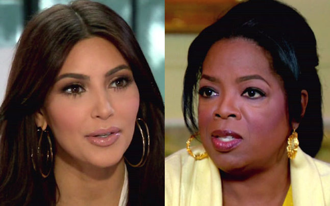 Oprah Winfrey Blasts Kim Kardashian For Using Haiti Trip To Repair Image