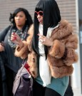 nicki fur coat