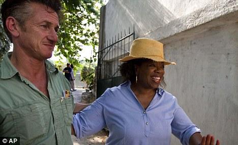 Oprah Winfrey Visits Haiti [Photo]