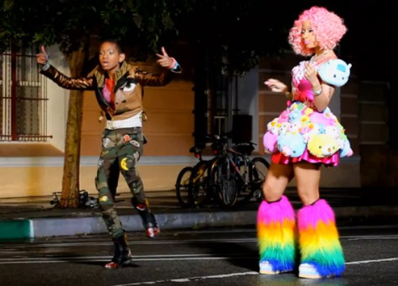New Video: Willow Smith Ft. Nicki Minaj – Fireball