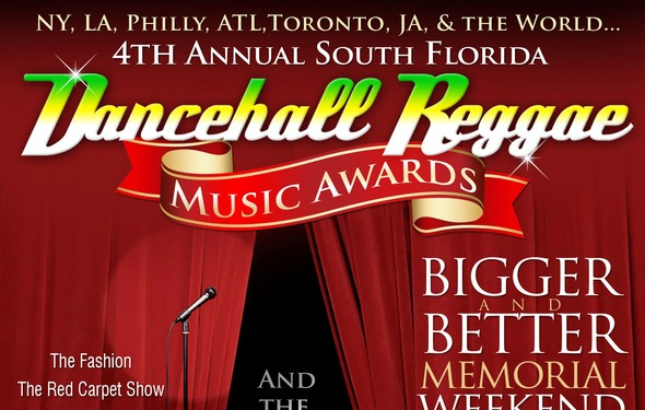 The 4th Annual SoFlo Dancehall & Reggae Music Awards Set For Memorial Weekend