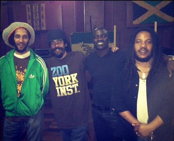 Akon and marley brothers