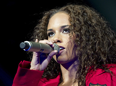 Alicia Keys In Jamaica Recording For New Album