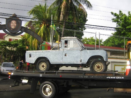 Bob Marley's Land Rover To Be Restored [Photo] - Dancehall ...