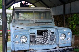 Bob Marley's Land Rover To Be Restored [Photo]