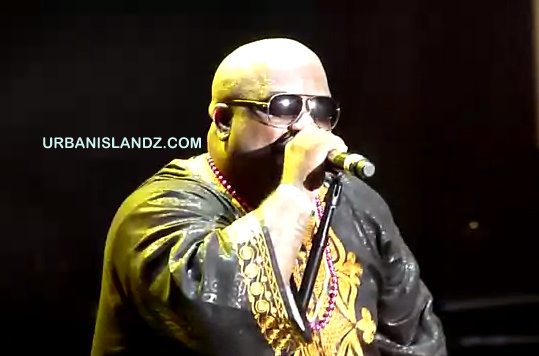 Cee Lo Green Performing Live At Jamaica Jazz & Blues Fest [Video]