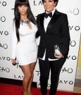Kim Kardashian & Kris Jenner ring in 2012