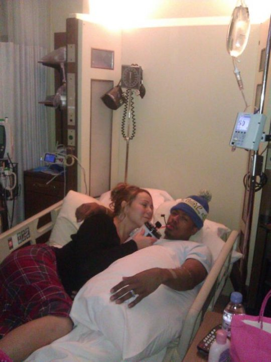 Nick cannon and mariah carey hospital