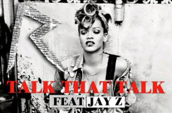 "Rihanna Revealed Single Cover For ""Talk That Talk"" Ft. Jay-Z"