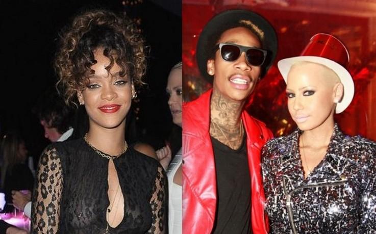 How Celebs Ring In 2012: Rihanna, Lil Wayne, Chris Brown, Wiz Khalifa, Nicki Minaj, Rick Ross And More [Photo]