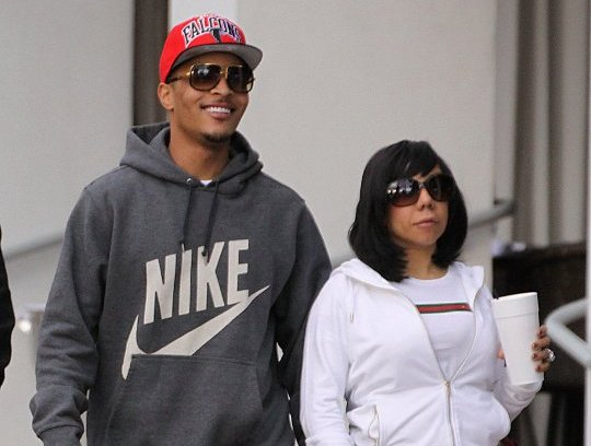 T.I. And Wife Tiny Strutted In Miami [Photo]