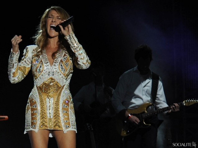 Photos Celine Dion Suffers Wardrobe Malfunction In Jamaica 2012 ...