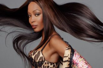 Naomi Cambell Posed For Spring 2012 Robert Cavalli, She Still Got It [Photo]