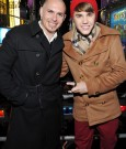 pitbull and justin bieber ring in 2012