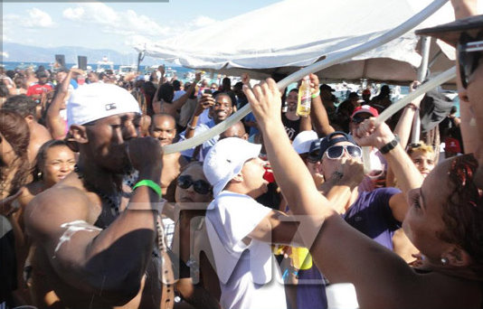 Media Bash Usain Bolt For Partying Like A Rock Star In The Holidays [Photo]