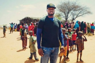 50 Cent Gives A Helping Hand In Africa [Photo]