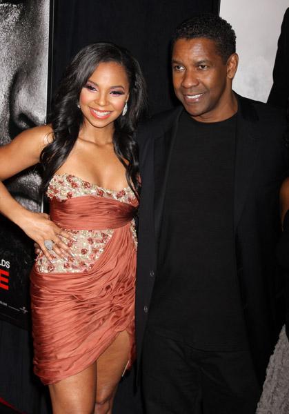 Ashanti and Denzel Washington