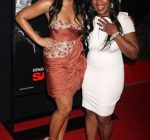 Ashanti and her mother