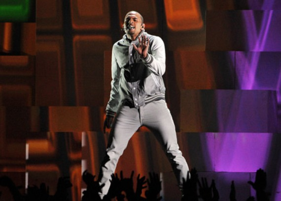 Chris Brown grammy performance 2012