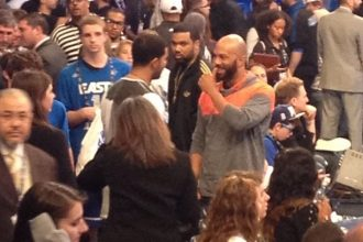 Drake And Common Squash Beef At NBA All Star Game