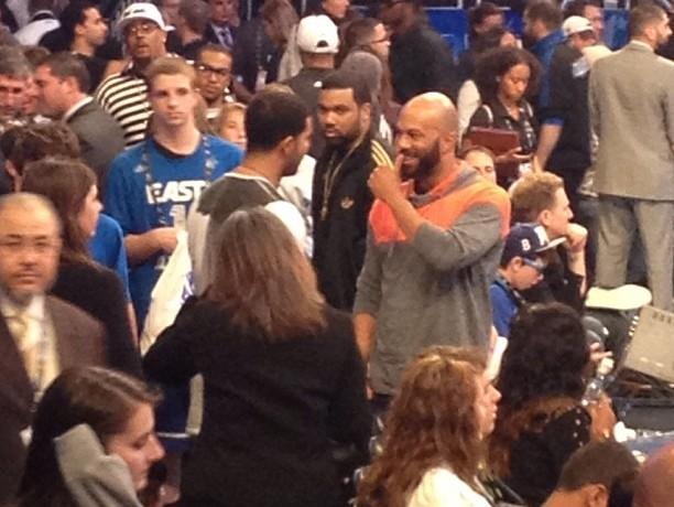 Common and Drake NBA All Star